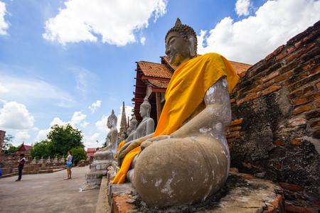 and authority: Autoridad de Turismo de Tailandia: Wat Yai Chaimongkol.