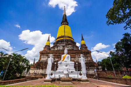 chaimongkol: Tourism Authority of Thailand:Wat Yai Chaimongkol,face,visage.