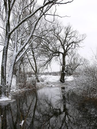 snowlandscape: Freezing river