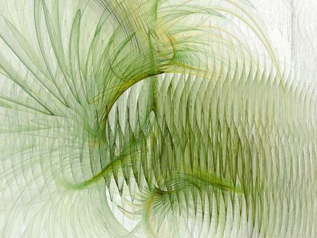 apophysis: Abstract green background