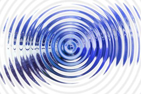 hypnotique: R�sum� hypnotique fond bleu