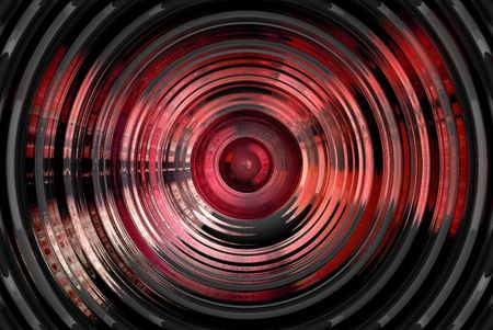 hypnotic: Abstract hypnotic 3D background