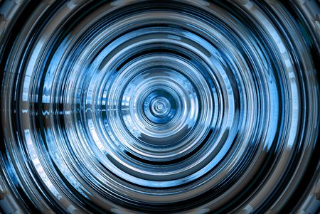 Abstract hypnotic background photo