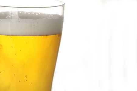 A glass of beer in closeup Stock Photo - 787243