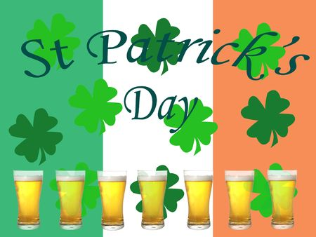 St Patrick's day illustration Stock Illustration - 787256