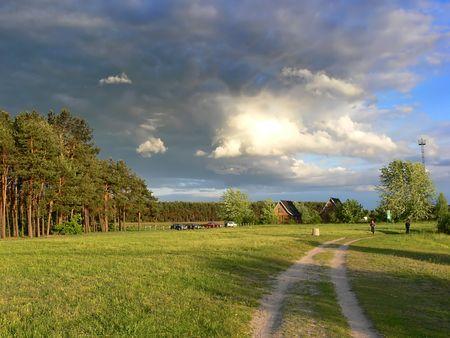 Beautiful summer landscape photo