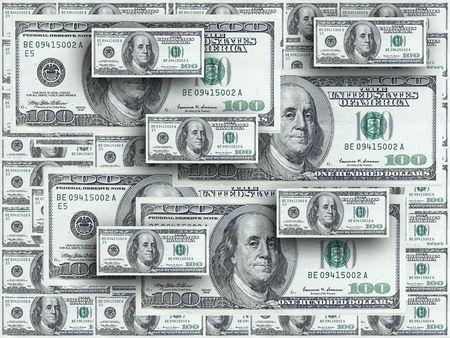 sweepstake: Hundred dollar notes design
