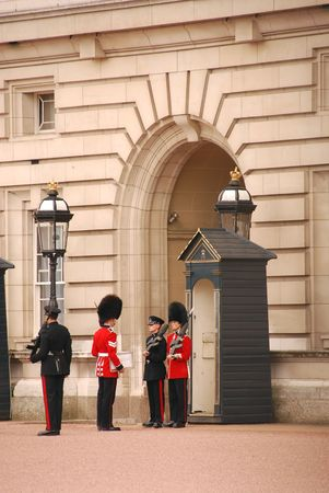 Buckingham Palace guards Stock Photo - 1006757