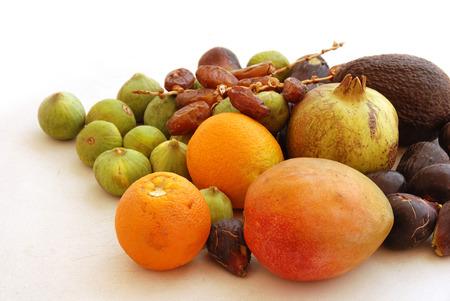 Fresh tropical fruit photo