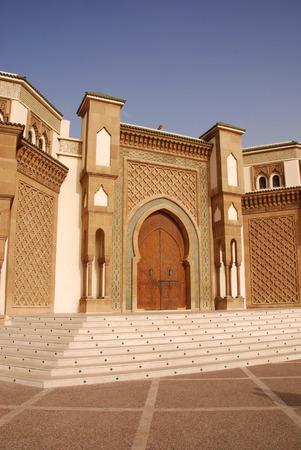 Mosque in Agadir, Morocco photo