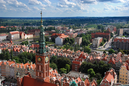 Gdansk panorama photo