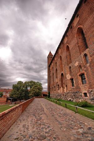 teutonic: Teutonico vecchio castello in Gniew, Polonia