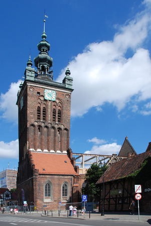 catherine: St Catherine church in Gdansk