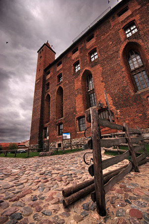 teutonic: Antico castello teutonico in Gniew, Polonia
