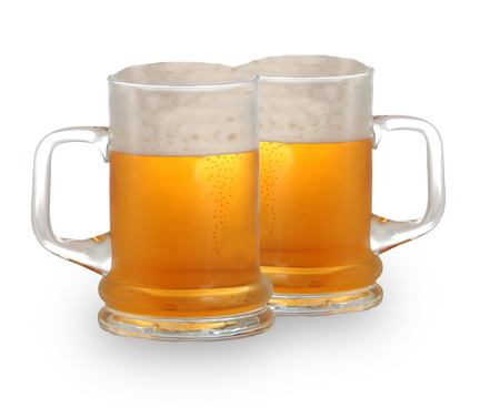 Two pints of beer Stock Photo - 1582891