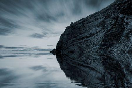 high dynamic range: Beautiful lake