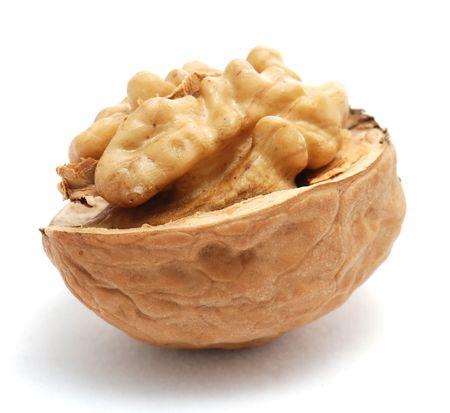 Walnut in closeup