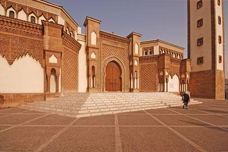 Mosque in Agadir, Morocco