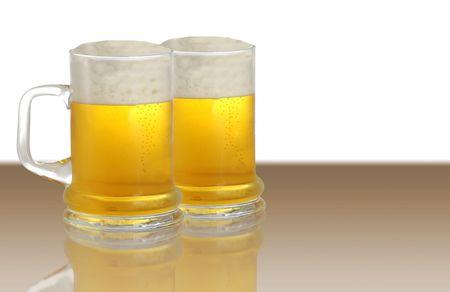 tankard: Two pints of beer