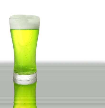 Green beer for St Patrick's Day Stock Photo - 2614048