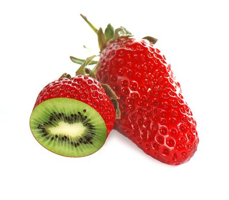 illogical: Strawberry which looks like kiwi inside