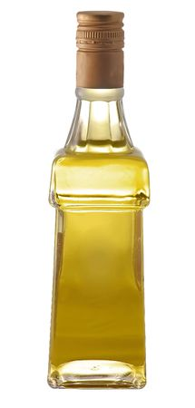 Bottle of oil isolated on white background Stock Photo - 3121741