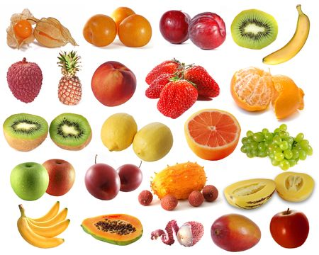 Assembling of delicious fruit photo