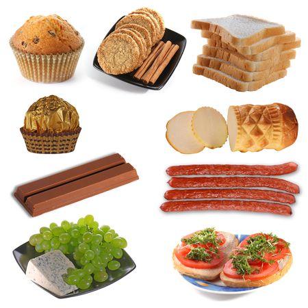 oscypek: Assembling of delicious food