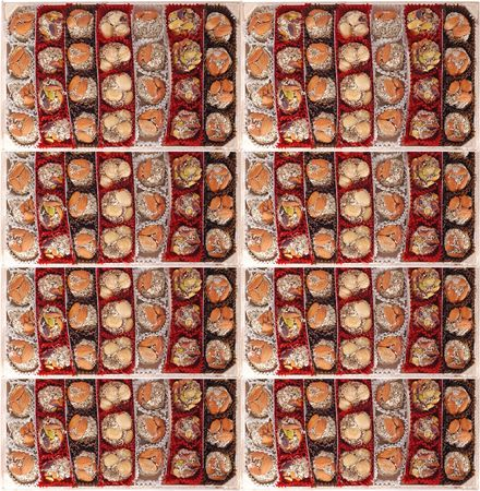 Turkish delight sweets Stock Photo - 3603798
