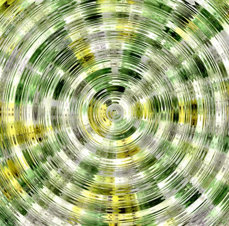 apophysis: Abstract hypnotic background Stock Photo