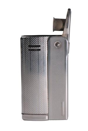 gas lighter: Cigarette lighter isolated on white background