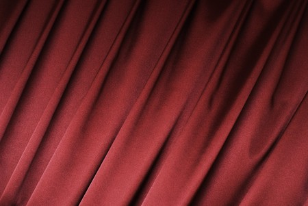 Red curtain background Stock Photo - 4421480