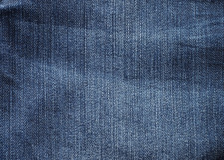 Blue denim texture n close-up