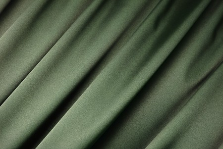 Green curtain background Stock Photo - 4451555