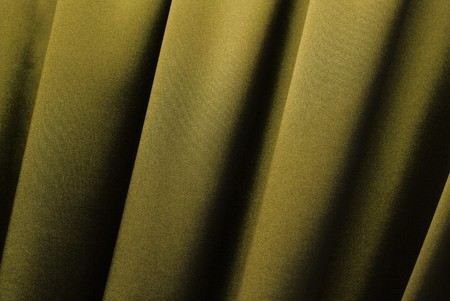 Golden curtain background Stock Photo - 4451554