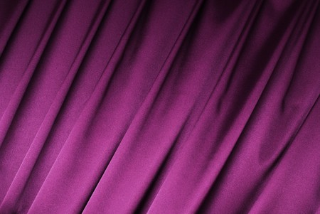 Purple curtain background Stock Photo - 4451552