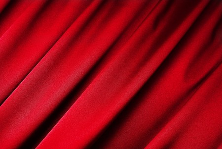Red curtain background Stock Photo - 4451572