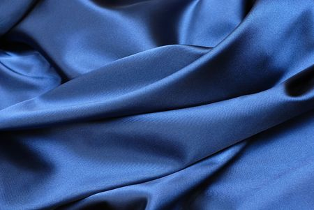 Blue curtain background Stock Photo - 4659669