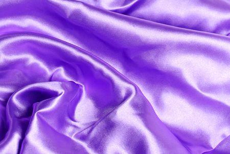 Purple satin background Stock Photo - 4684105