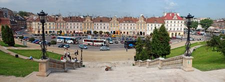 lublin: Old city of Lublin, Poland panorama