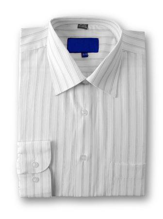 Cotton shirt isolated on white background photo