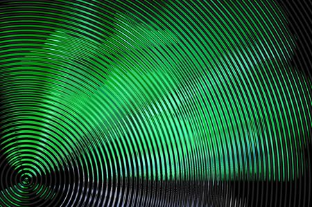 Abstract rippled hypnotic background Stock Photo - 5995027