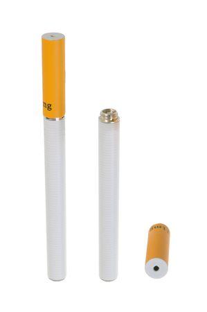 Electronic cigarette isolated on white background Stock Photo - 6356373