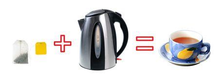 Tea preparation process photo