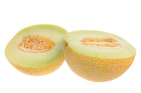 Melon isolated on white background Stock Photo - 7167652