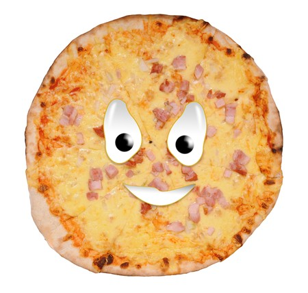Happy food series - pizza photo