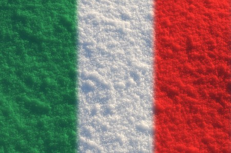Fuzzy flags series - Italy photo