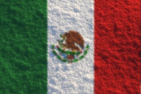 Fuzzy flags series - Mexico photo