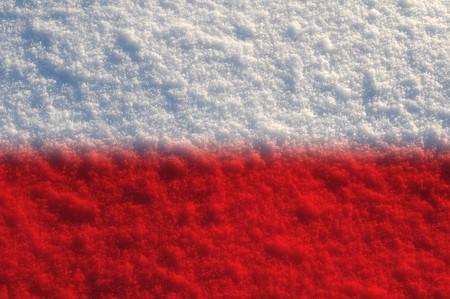 Fuzzy flags series - Poland photo