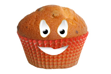 Happy food series - muffin photo